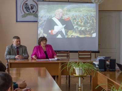 На факультете общественных наук состоялся показ фильма об Александре Суворове
