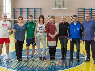 В ПГУ прошел турнир по бадминтону для сотрудников