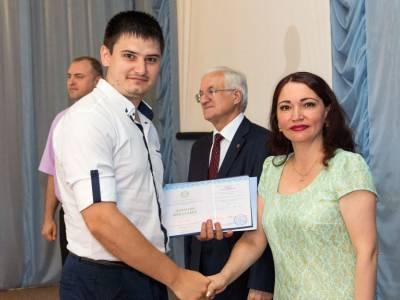 В Бендерском политехническом филиале вручили дипломы бакалаврам