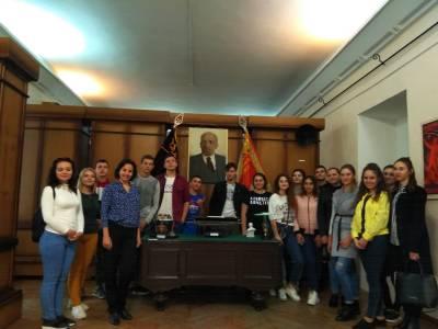 Студенты ПГУ побывали на экскурсии в музее