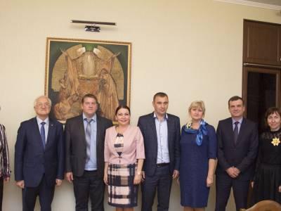 Встреча с белорусскими коллегами