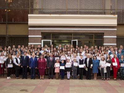 Лучшие студенты стали обладателями стипендии Президента