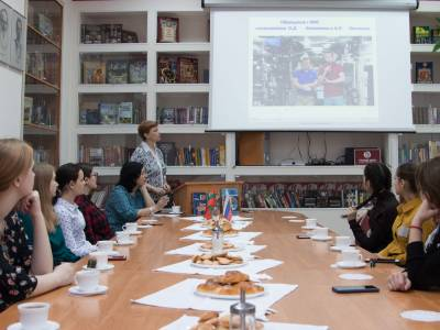 Гагаринский урок прошел в Русском центре ПГУ