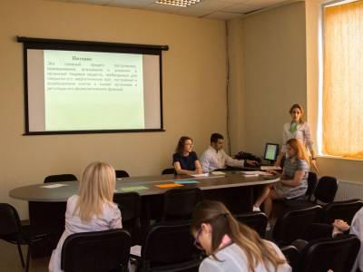 Научно-практический семинар на медицинском факультете