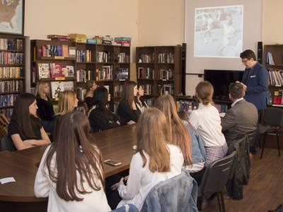 Встреча в Центре английского языка и американской культуры