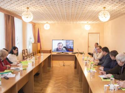 В ПГУ прошел круглый стол, посвященный Петру Румянцеву