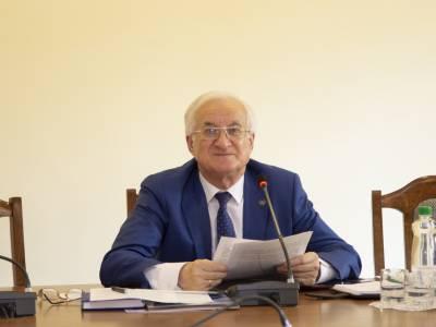 Поздравление ректора ПГУ с Днем учителя