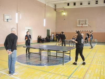 Состоялись соревнования по настольному теннису