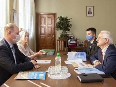 Встреча с белорусской делегацией