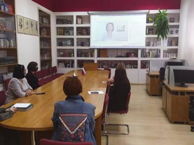 Русисты ПГУ приняли участие в онлайн-встрече с коллегами